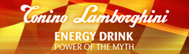 Tonino Lamborghini Energy Drink:  Power of the Myth
