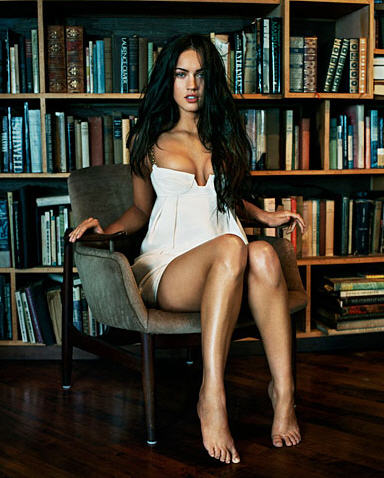 Megan Fox – New Face of Giorgio Armani